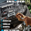 jeep and winch with man pulling it over rocks for survival guide cover