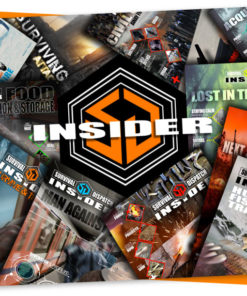 survival dispatch insider membership background with issue cover images