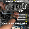 truck with a cooler and motor cycle on cover of vehicle survival guide part 1