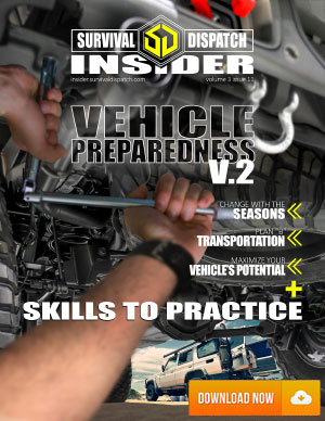 working on a truck and preparing it for harsh conditions