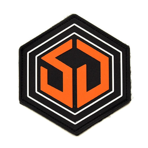 survival dispatch pvc based backpack patch on a white background
