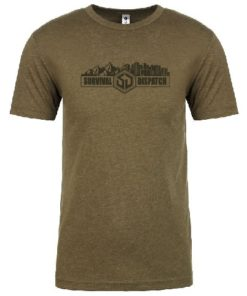 All Terrain Survival T-Shirt OD Green