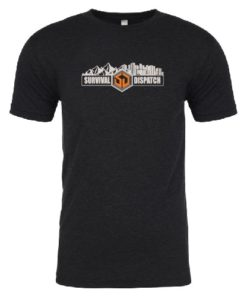 SD T-Shirt Heather Black Wilderness to Urban